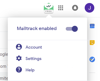 Disable Mailtrack