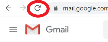 Refresh Gmail